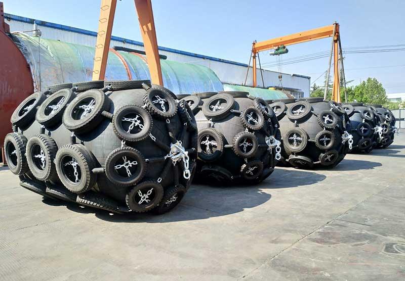 Net Type Pneumatic Fenders